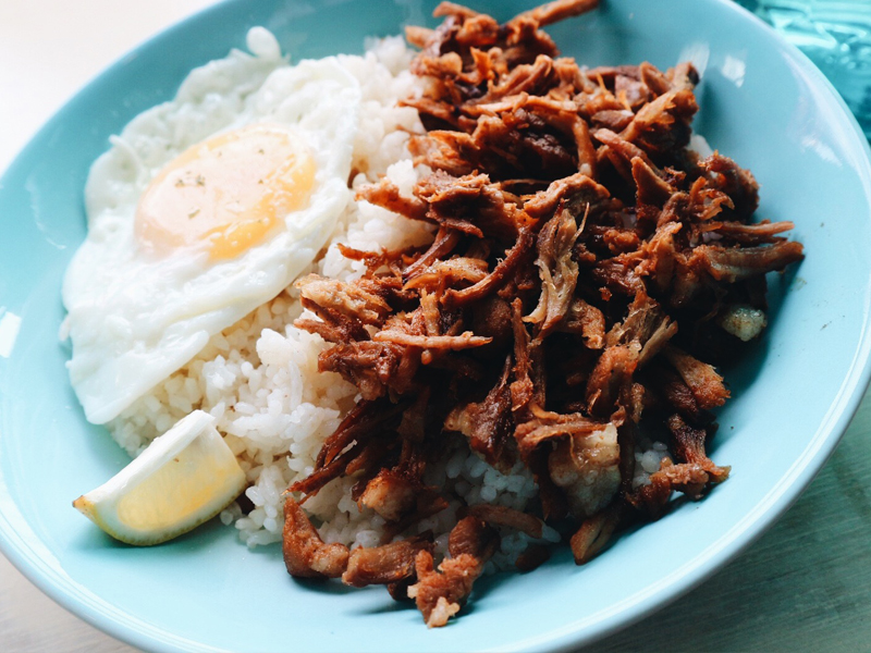 Mermaid Cafe Sweet and Spicy Pulled Pork Rice